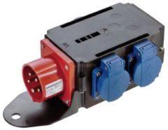 Bachmann 349.028 - CEE-Adapter 1xSt.16A 400V 3xSchu 349.028, Aktionspreis