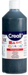 Bruna Plakkaatverf Creall basic 20 zwart 500ml