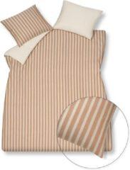 Roze Vandyck Pure 46 dekbedovertrekset van geweven katoen - inclusief kussenslopen