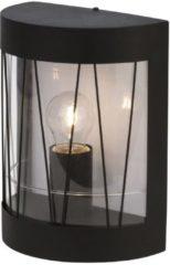 Brilliant Reed 44680/63 Buitenlamp (wand) Energielabel: Afhankelijk van de lamp LED E27 40 W Zwart (mat)