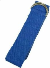Yogi & Yogini Yoga Riem D-ring Blauw Katoen (183 x 4 cm)