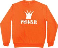 Bulbby Oranje sweater Koningsdag | Prinsje | Maat 122-128