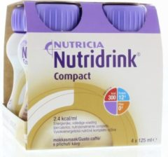 Nutridrink Compact mokka 125 ml 4 Stuks
