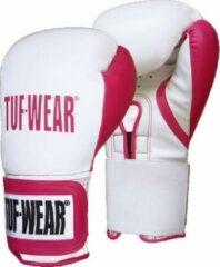 Roze TUF Wear dames Wildcat kickbokshandschoenen 14 oz