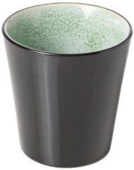 Cosy&Trendy Finesse groen Beker - Ø 9 cm x 9.5 cm - 34 cl - Set-6