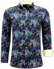 Zwarte Tony Backer Bijzondere overhemden 3067