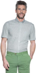 Groene Campbell Casual overhemd met korte mouwen