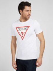 Witte T-Shirt Logo Driehoek