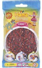Donkerrode Hama beads Strijkkralen Hama - 1000 Stuks - Bordeauxrood