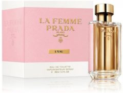 Prada La Femme L'Eau - 100 ml - eau de toilette spray - damesparfum