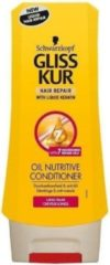 Schwarzkopf Gliss Kur Conditioner oil nutritive 200 Milliliter