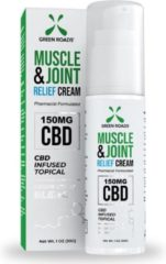 GREEN ROADS (CBD) Muscle & Joint Relief Cream 150 MG - 30gr