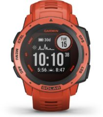 Garmin 010-02293-20 Instinct Smartwatch Solar Flame Red 45 mm