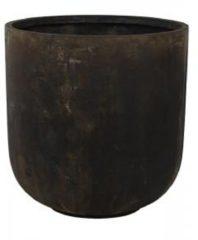 Ter Steege Static Couple L 59x60 cm bloempot zwart