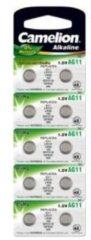 AG11 / LR721 KNOOPCEL ALKALINE CAMELION, BLISTER 10