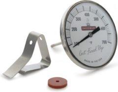 Smokeware Thermometer - Wit - Temperatuurmeter - Waterdicht - Barbecue thermometer - Barbecue temperatuurmeter - Geschikt voor Big groen Egg