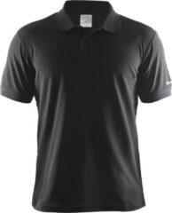 Craft - Polo Pique Classic - Poloshirt maat XXL, zwart