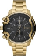 Diesel DZ4522 Horloge Heren Staal Goldplated Chrono