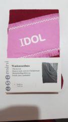Merkloos / Sans marque ISI MINI - Waskussenhoes - model IDOL - Rood / roze - 50x80cm