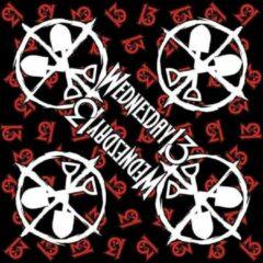 Rock Off Wednesday 13 Bandana Logo Shovels Zwart