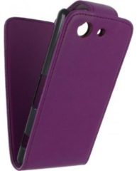 Xccess Flip Case Sony Xperia Z3 Compact Purple - Xccess