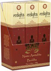 Bruine Yogi & Yogini Moksha Bliss Wierook Masala (12 pakjes)