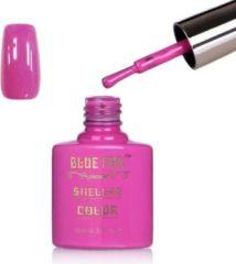 Roze Blue Fox Hyacinth Pink Gelnagellak