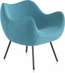 Lichtblauwe Vzór Design Fauteuil / Stoel RM58 SOFT Medley-09