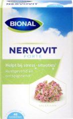 Bional Nervovit Forte - Ontspannen en concentratie verbeteren - Met valeriaan - 45 st