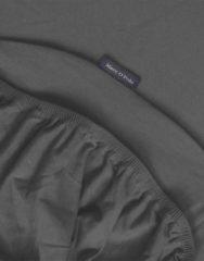Antraciet-grijze Marc O'Polo Premium Jersey hoeslaken van katoen, hoekhoogte 30 cm