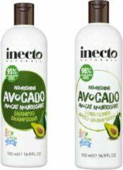 Inecto Avocado Shampoo en Conditioner