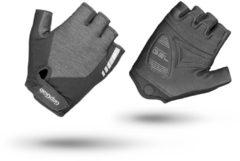 Grijze GripGrab ProGel handschoenen voor dames (korte vingers) - Handschoenen met korte vingers