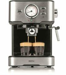 Zilveren BEEM, Espresso Machine Select, 15 bar – koffiezetapparaat, 1100W, koffiemachine,
