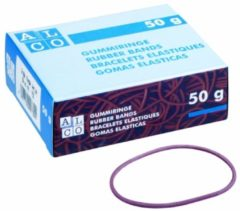 Elastieken Alco 40mm rood - kartonnen doosje a 50 gram