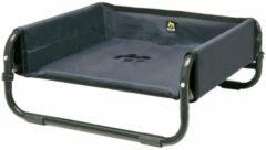 Antraciet-grijze Maelson Soft Bed voor kat of hond tot 15 kg 56 x 56 x 24 cm - Antraciet