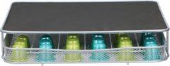 Zilveren Lowenthal - Koffiecapsulehouder - 30-60 capsules - 32x29x6cm
