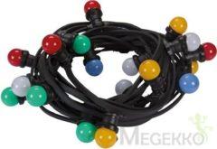 Velleman Led-Feestslinger - 11.5 M - 20 Gekleurde Led-Lampen, E27 230 VAC 50 Hz