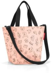 Einkaufstasche shopper XS kids Reisenthel cats and dogs rose