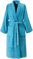 Blauwe De Witte Lietaer Etrusk – Badjas - Turquoise - L