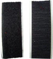 Merkloos / Sans marque Klittenband zelfklevend zwart - klitttenband zelfklevend 100 cm