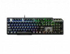 Zwarte MSI VIGOR GK50 ELITE BOX WHITE - Toetsenbord backlit - USB - VS - toetsschakelaar: Kailh Box White