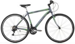 Cicli Cinzia 28 ZOLL CINZIA FITNESS MAN Trekking Fahrrad ALUMINIUM 21-GANG Herren matt-grau
