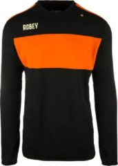 Oranje Robey Sweater - Voetbaltrui - Black/Orange - Maat XL