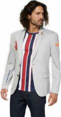 Licht-grijze OppoSuits Deluxe Blazer - Sports Jersey