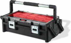Keter Kis All-in - Opbergbox - L - Wit - 54.5x38.5x54.3cm - (Set van 4) En Yourkitchen E-kookboek - Heerlijke Smulrecepten