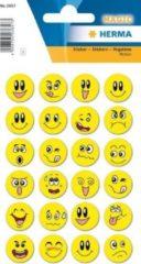 Haza Original Stickers Smiley Geel 24 Stuks