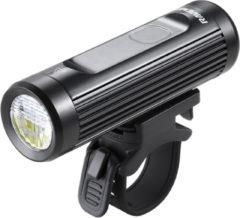 Zwarte Ravemen CR900 USB oplaadbaar DuaLens koplamp met display en afstandsbediening – 900Lu