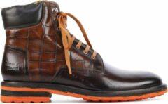 Bruine Melvin & Hamilton Mannen Leren Boots - Trevor 35 - 44
