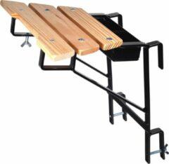 Maxall Ladder muurafhouder zwart (sport 30 mm)