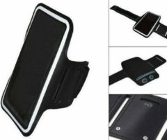 Comfortabele Smartphone Sport Armband voor uw Acer Liquid S1, Zwart, merk i12Cover